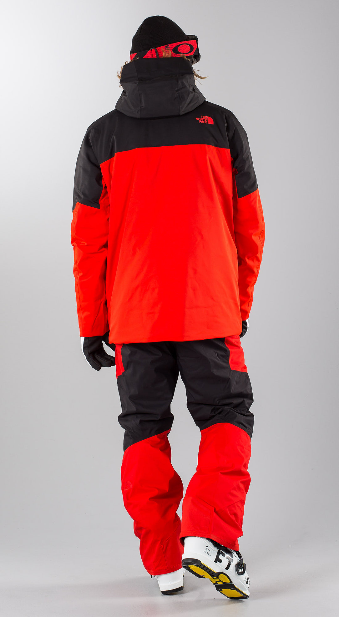 pretty nice 19eac d32b1 The North Face Chakal Red/Black Skibekleidung - Ridestore