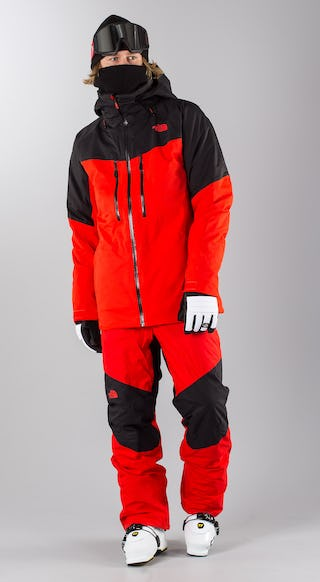 online retailer 15411 3d70d The North Face Chakal Red/Black Ski clothing - Ridestore