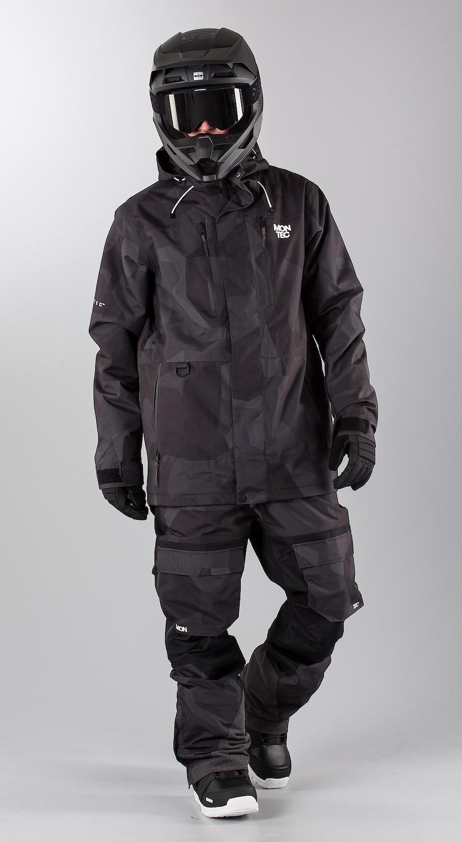 Montec Fawk Night Camo Snowmobile clothing Multi