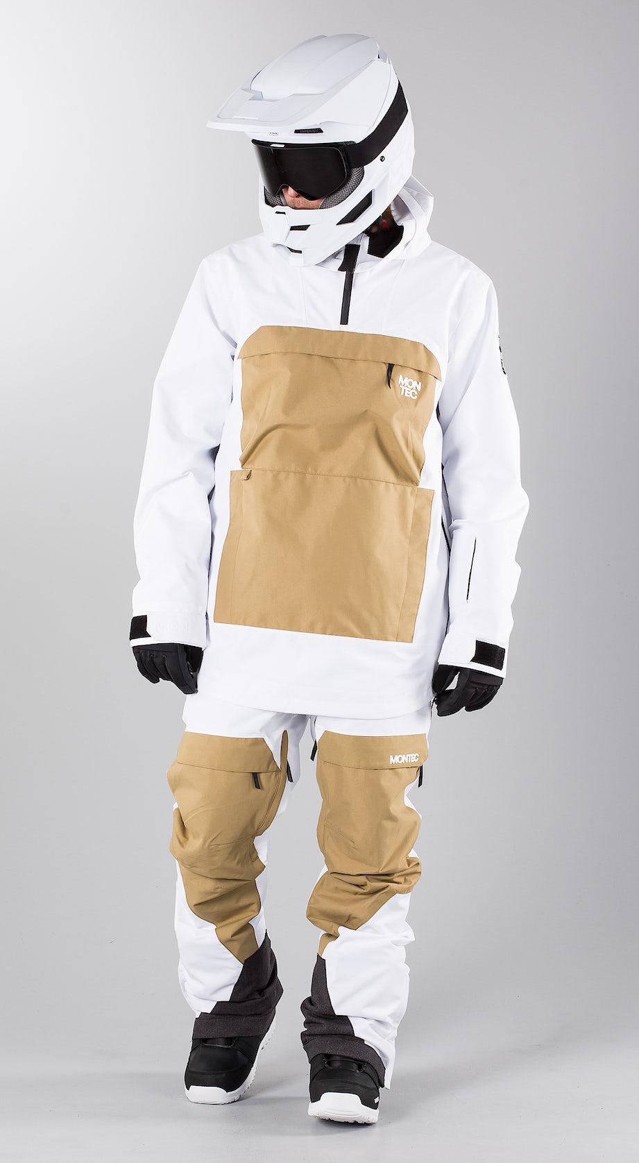 Montec Dune Khaki White Snowmobile clothing Multi