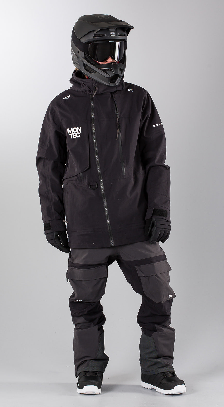 Montec Mount Black Snowmobile clothing Multi