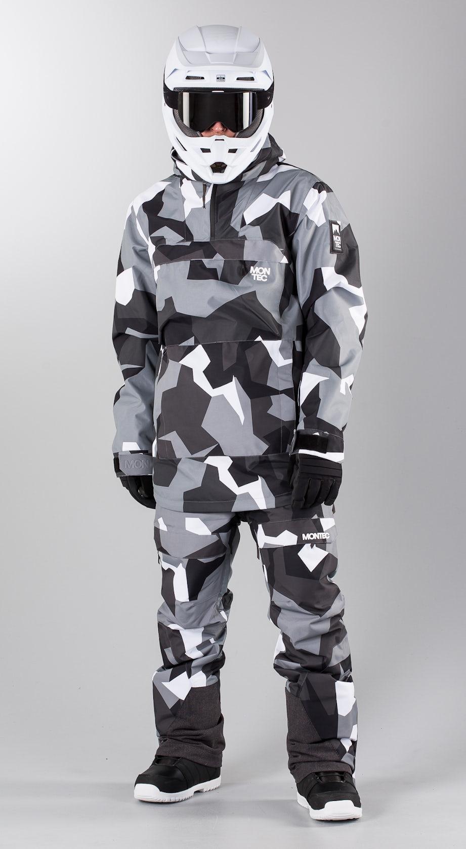 Montec Dune Artic Camo Snowmobile clothing Multi