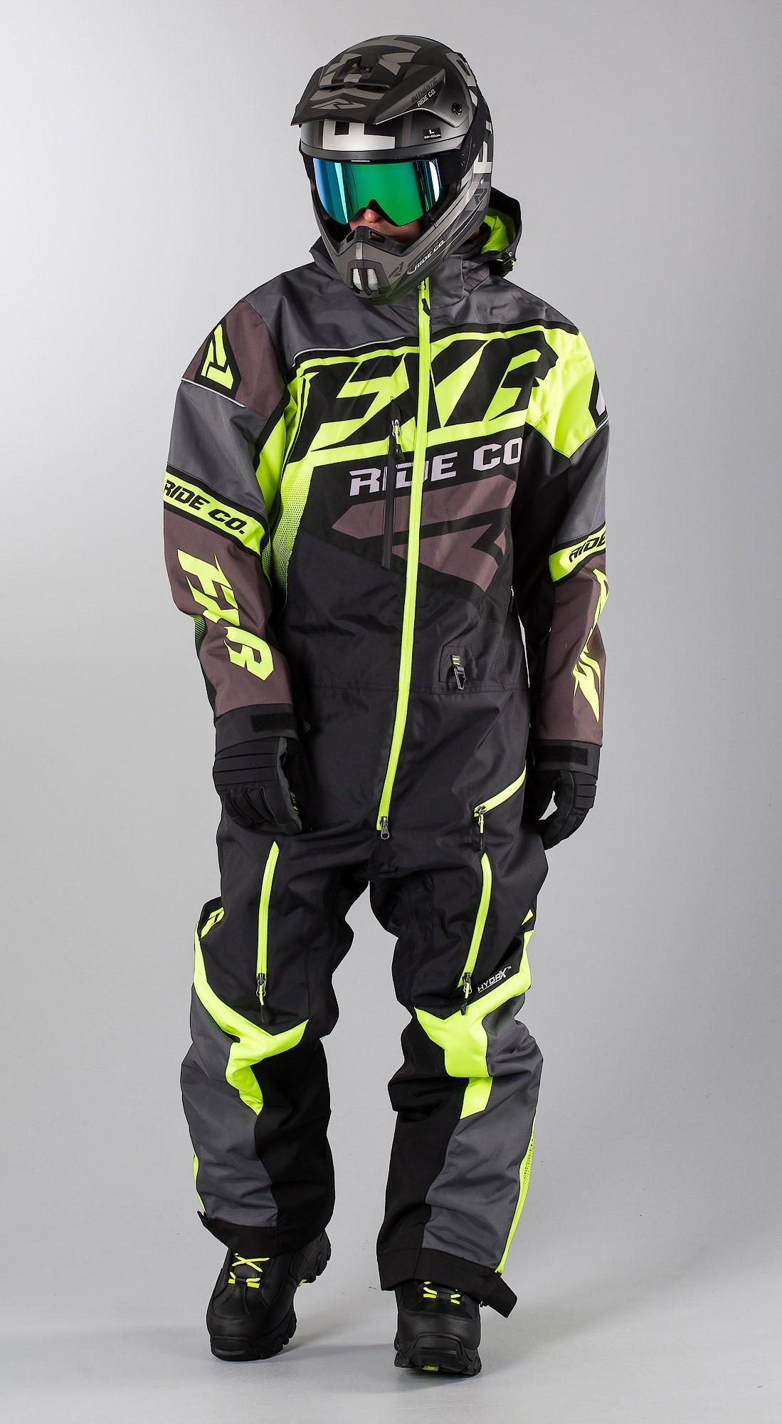 FXR CX Lite Black/Charcoal/Hi Vis