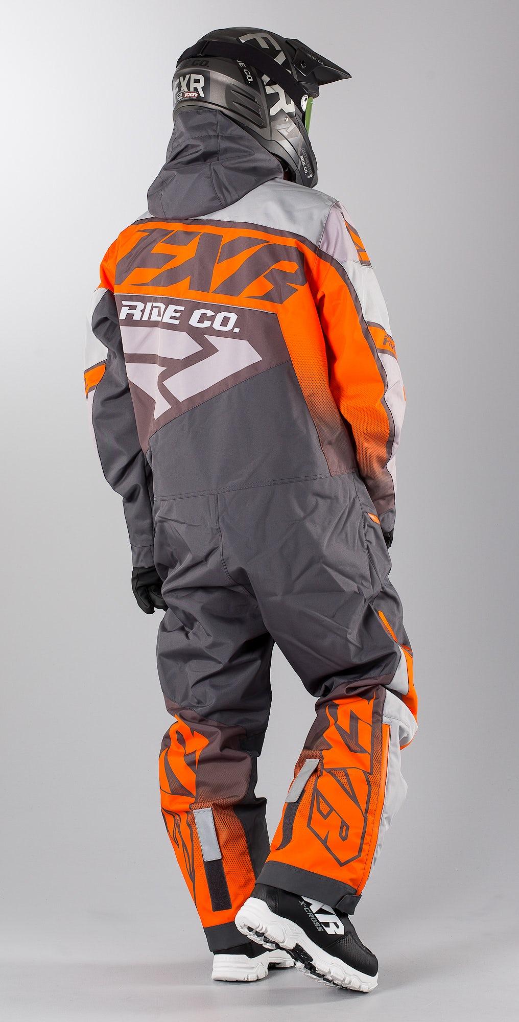 FXR CX Lite Charcoal/Grey/Orange
