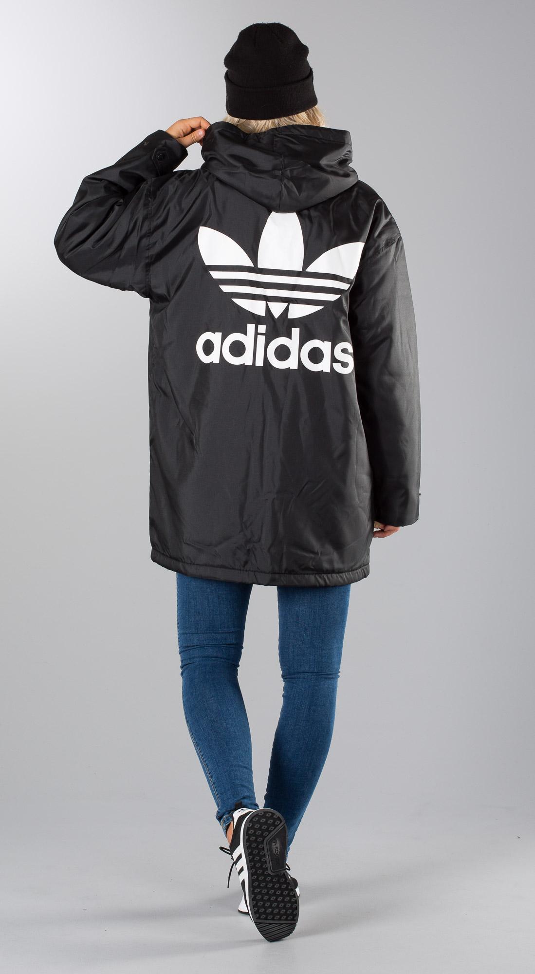 Adidas Originals Adicolor Jacket Black Outfit Ridestore
