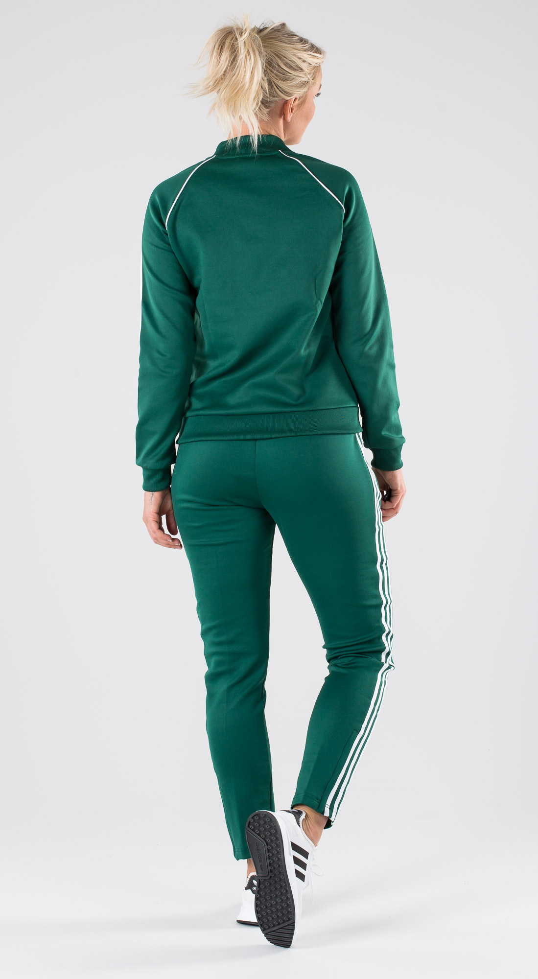 Adidas Originals Sst Tt Collegiate Green Outfit Ridestore