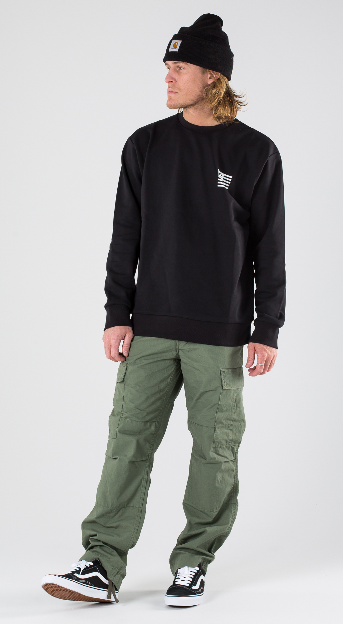 Vans Full Patch Back Camo White Outfit Ridestore