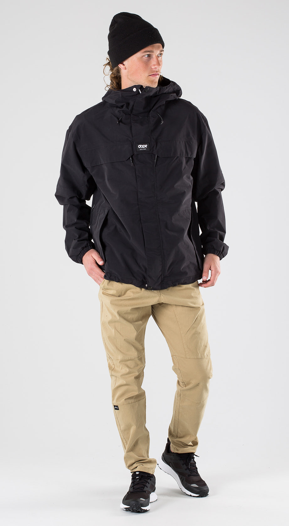 Dope Trekker Black Outfit Multi
