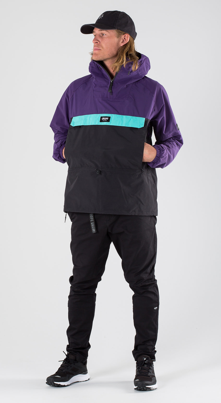 Dope Hiker Purple/Black/Azure Outfit Multi