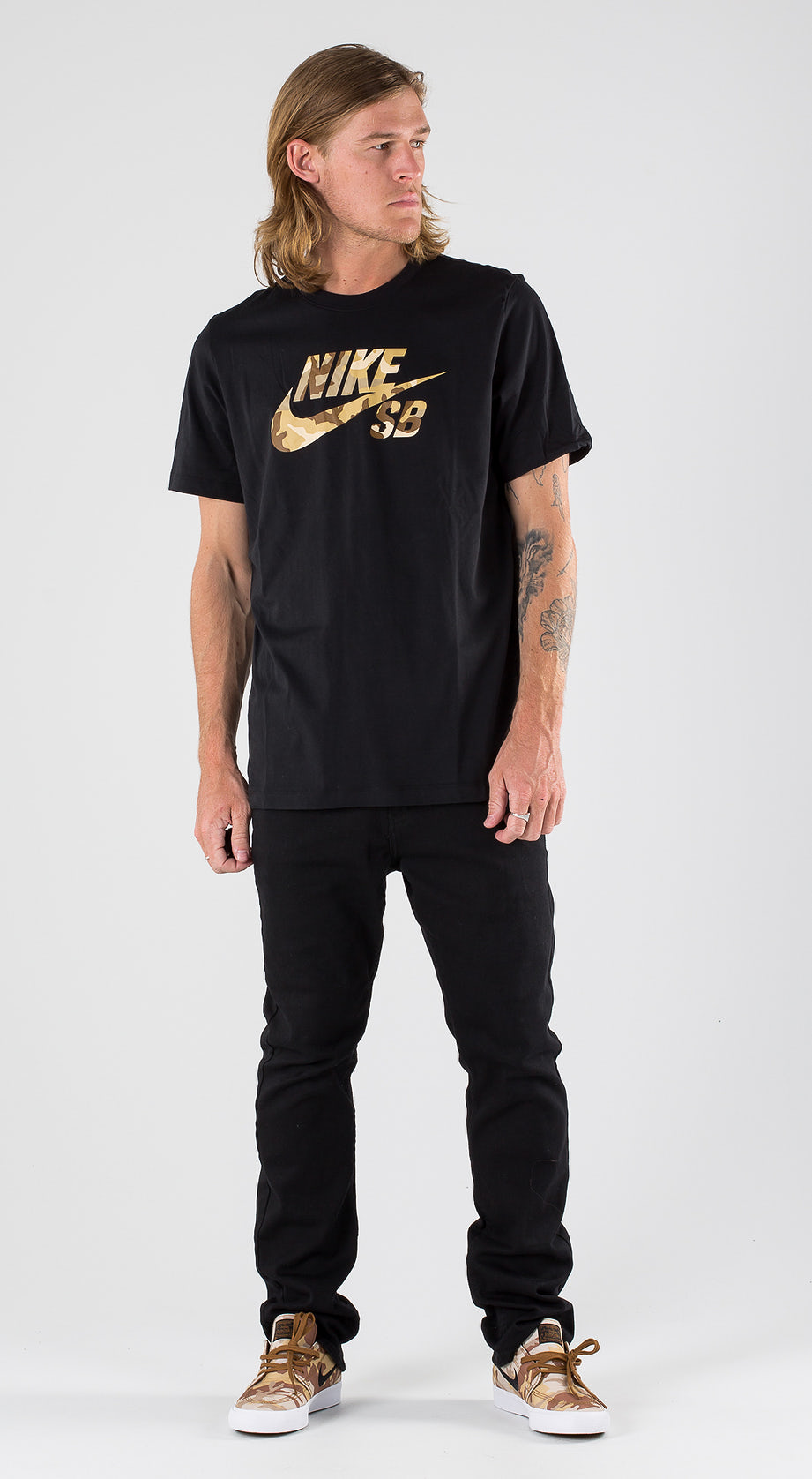 Nike SB Logo Snsl 2 Black Outfit Multi