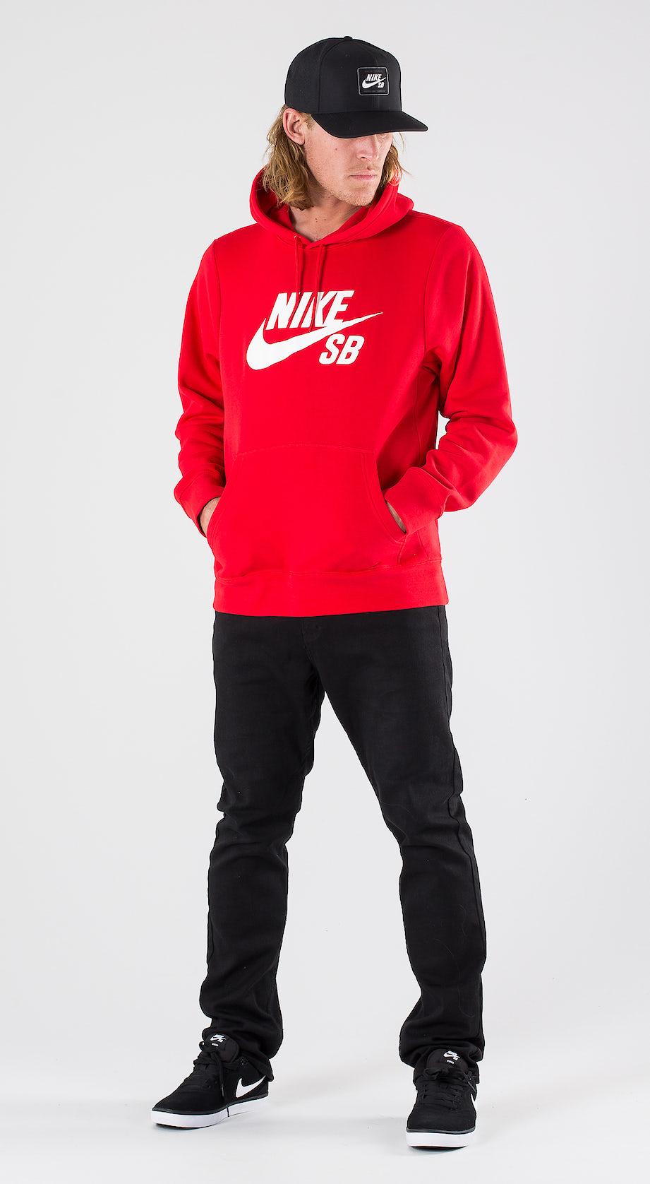 Nike SB Icon University Red/White Outfit Multi