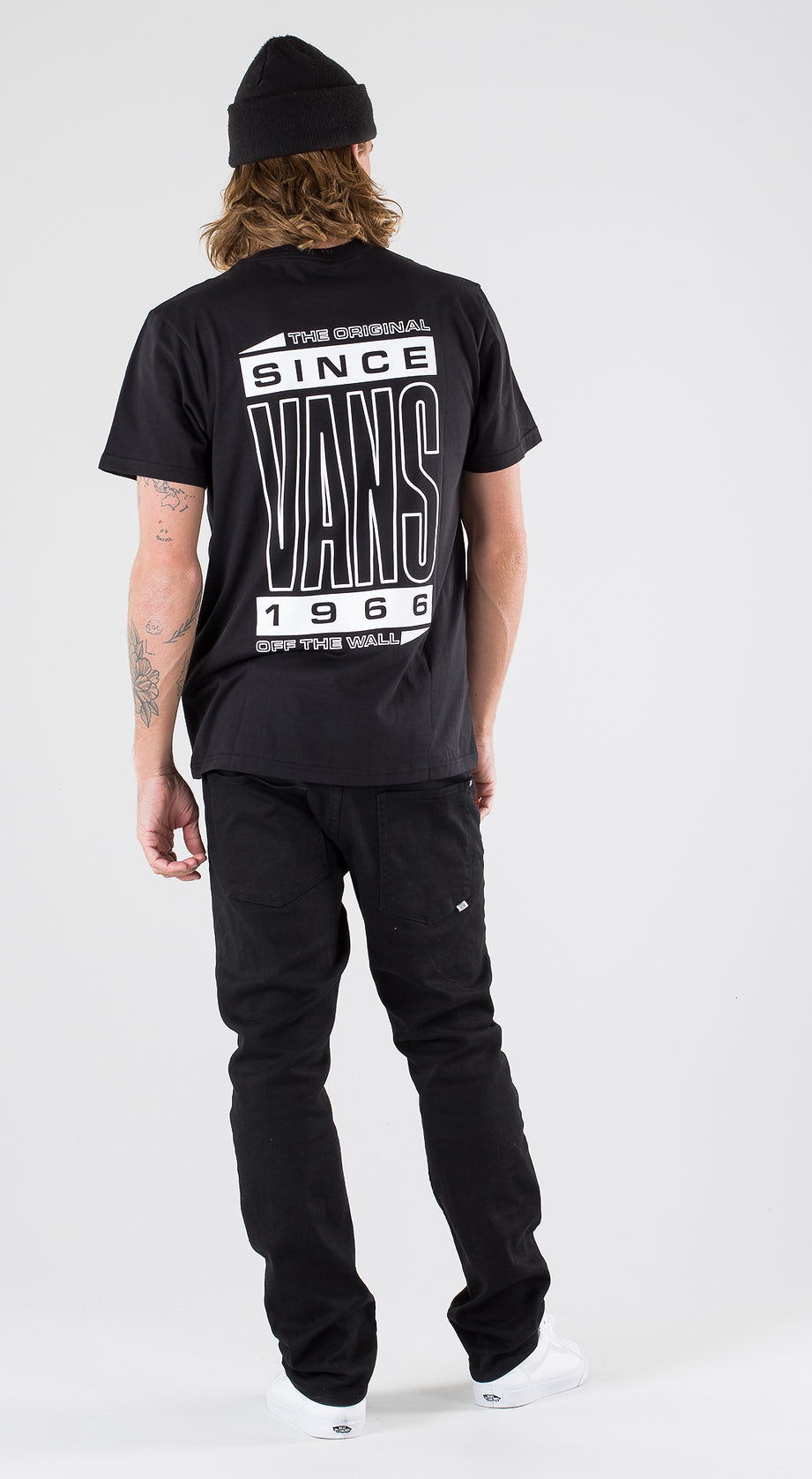 Vans High Type Ss Black Outfit Multi