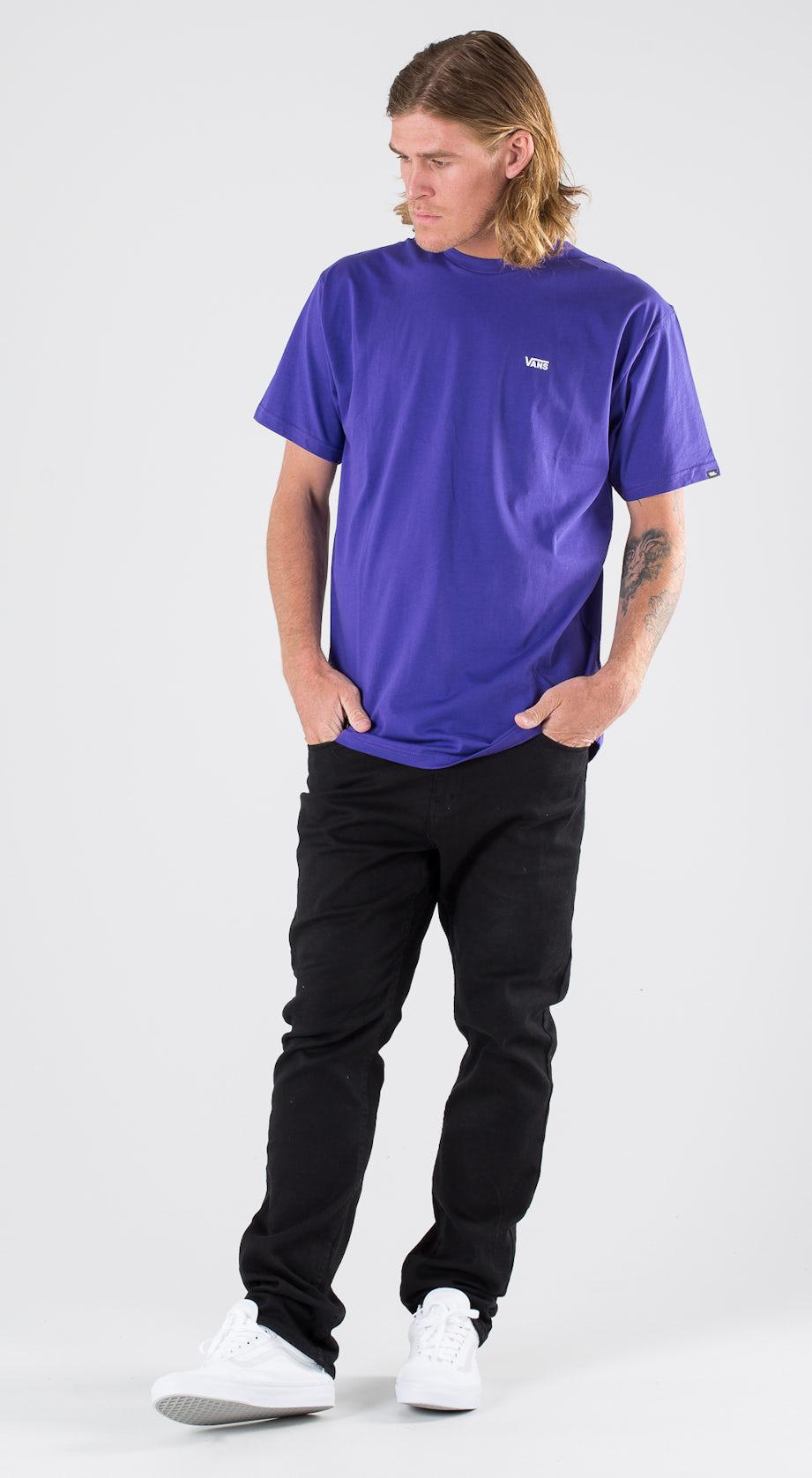 Vans Left Chest Logo Vans Purple Outfit Multi