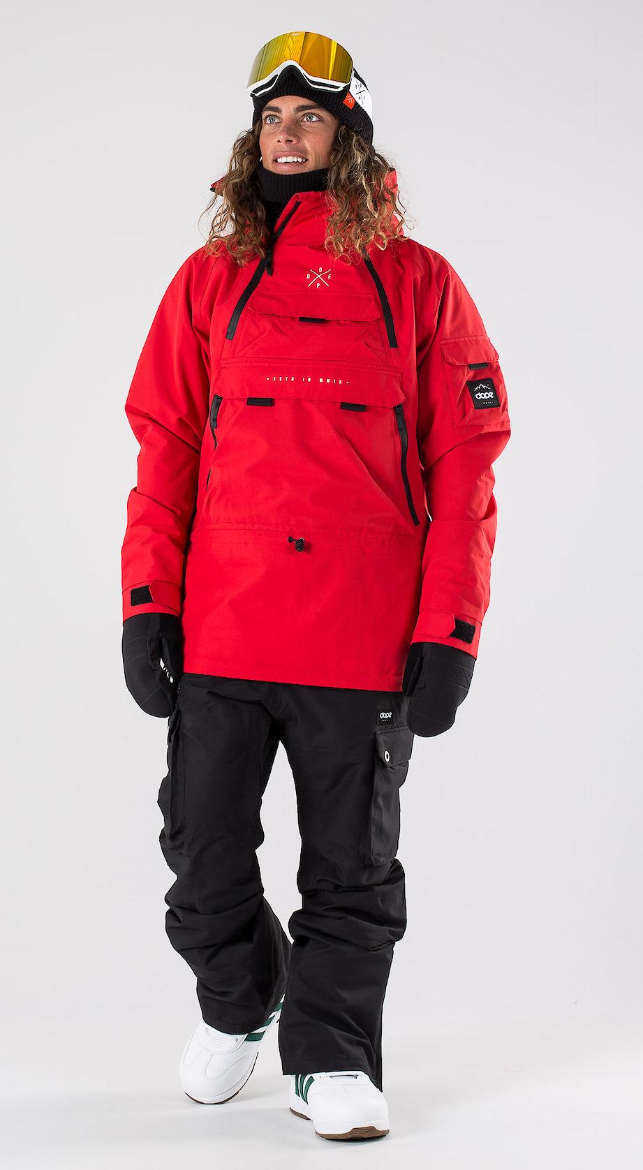 Dope Akin Red Snowboard clothing Multi