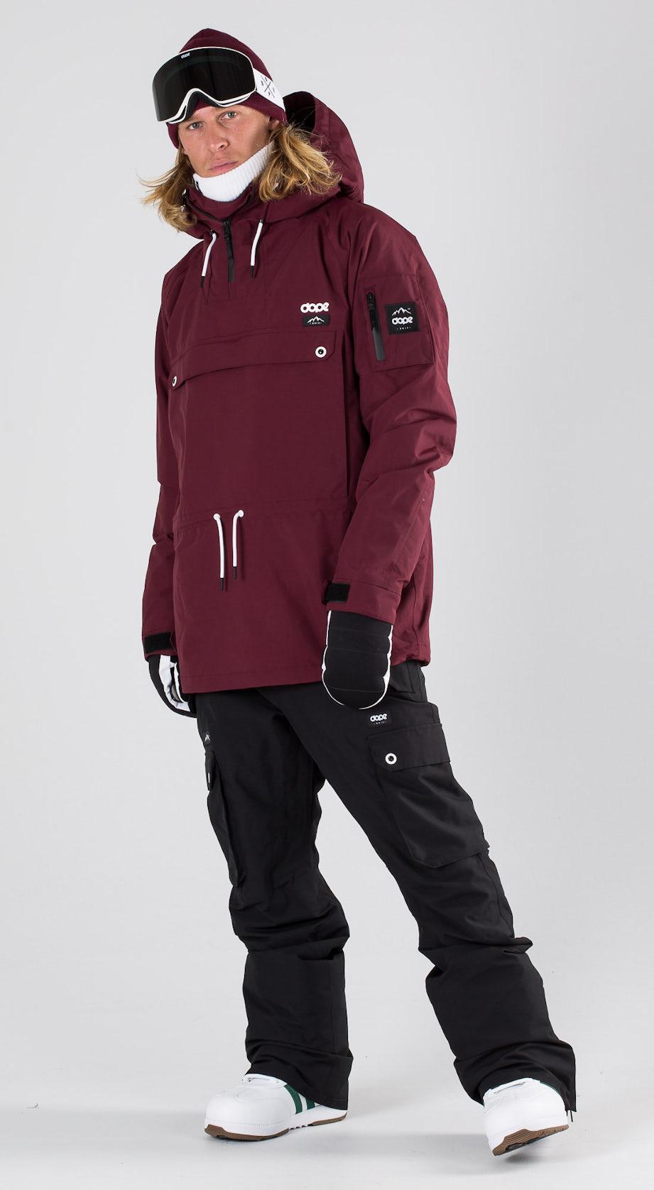 Dope Annok Burgundy Snowboard clothing Multi