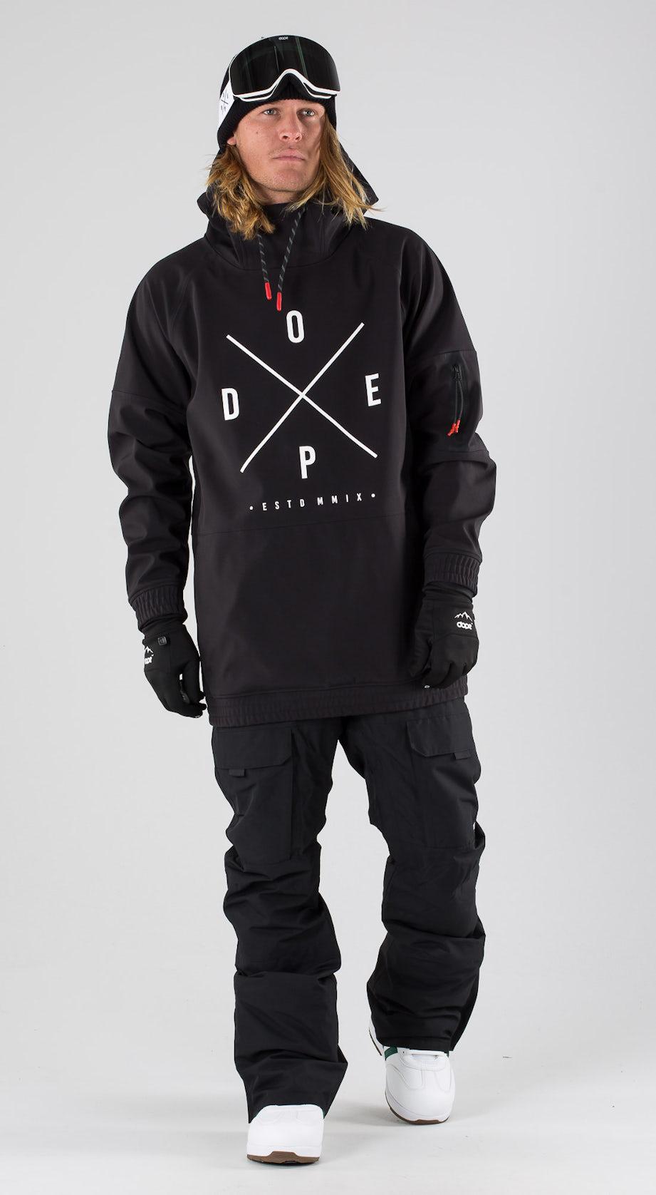 Dope Rambler MTE Orange Snowboard clothing Multi