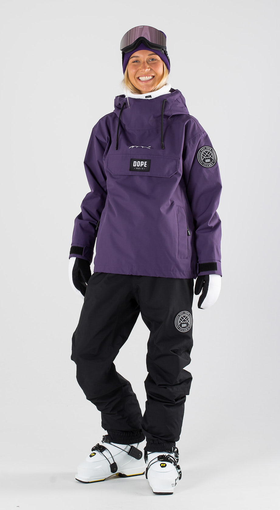 Dope Blizzard W Grape Skidkläder Multi