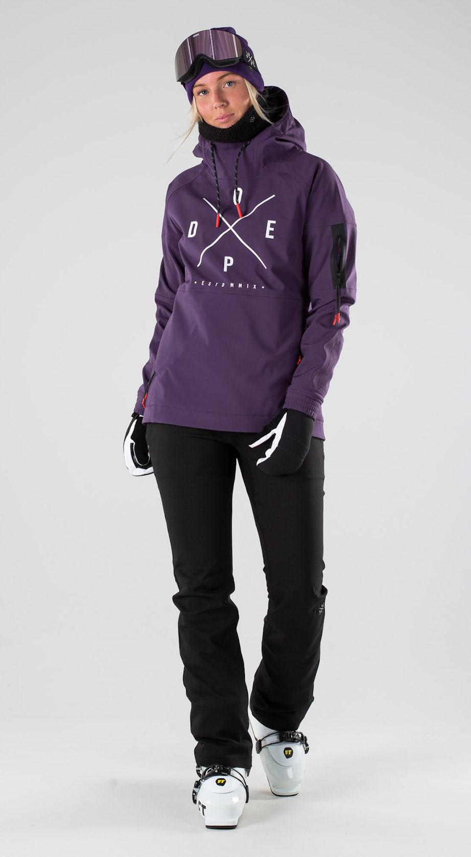 Dope Rambler MTE W Grape Skidkläder Multi