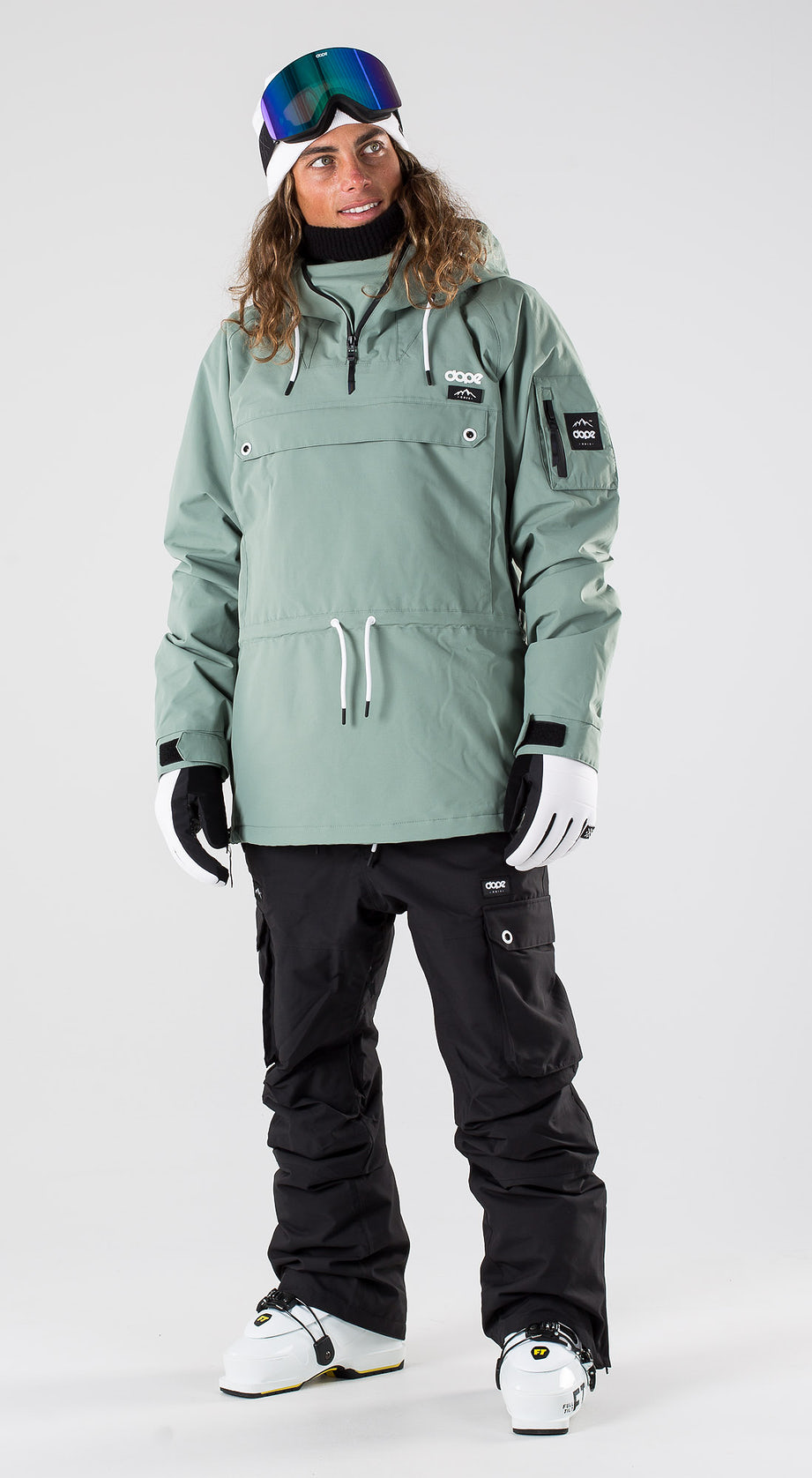Dope Annok Faded Green Ski clothing Multi
