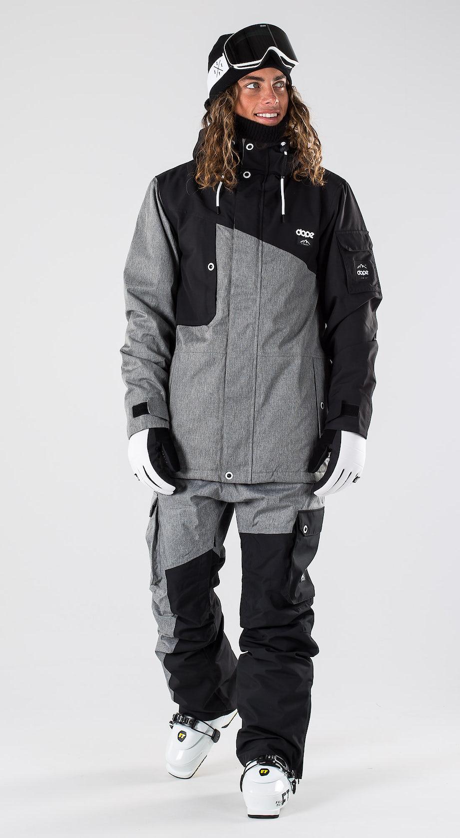 Dope Adept Black/Grey Melange Ski clothing Multi
