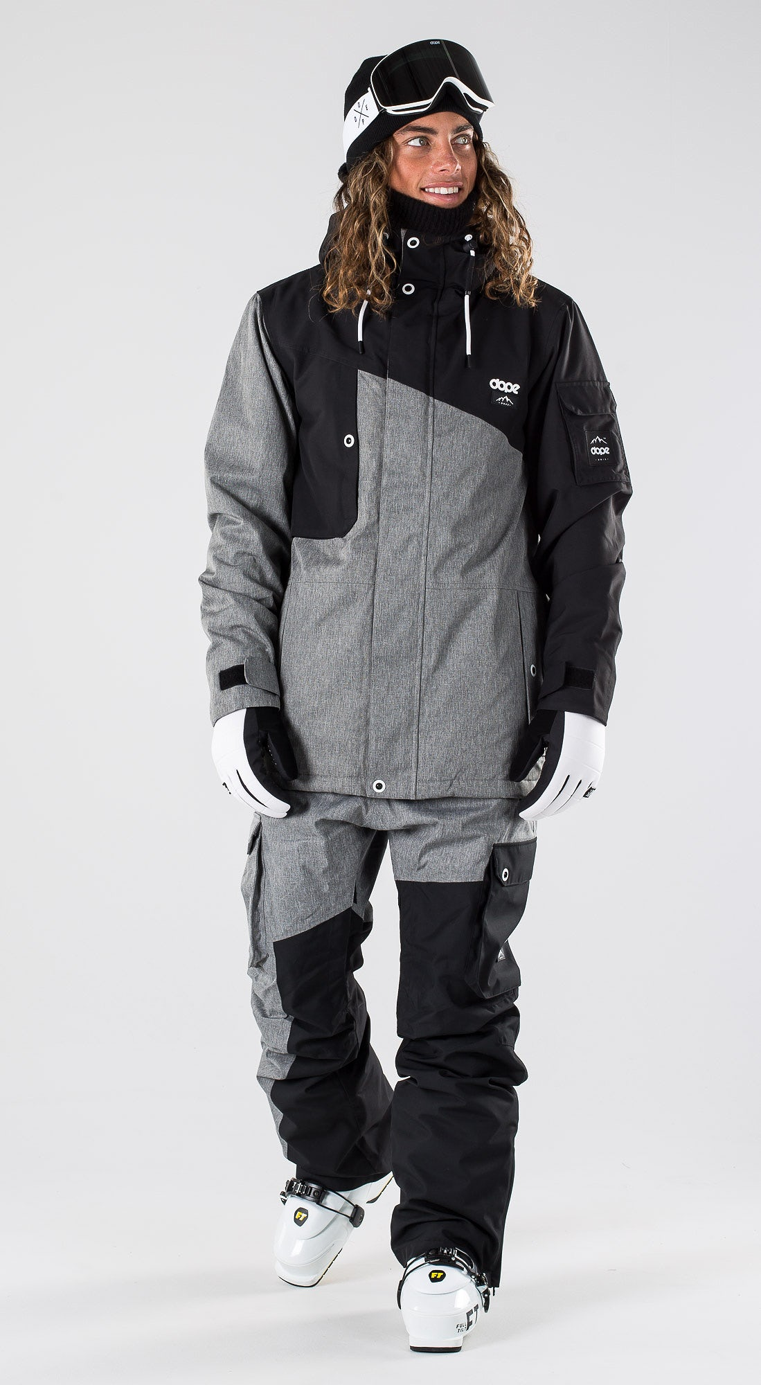 Dope Adept Black/Grey Melange