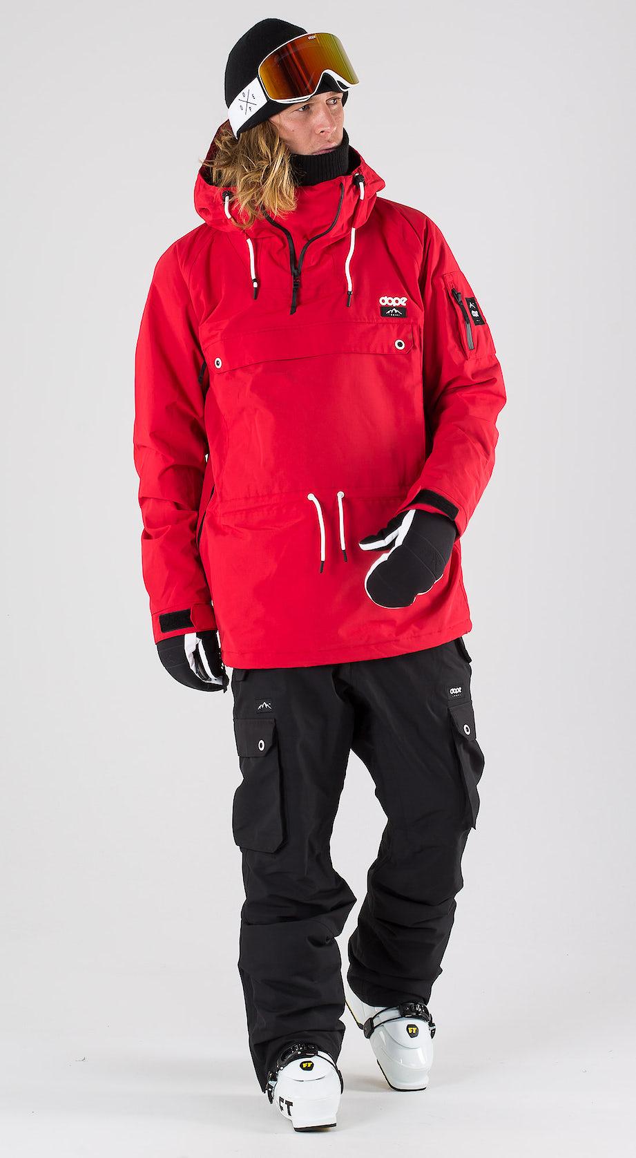 Dope Annok Red Ski clothing Multi