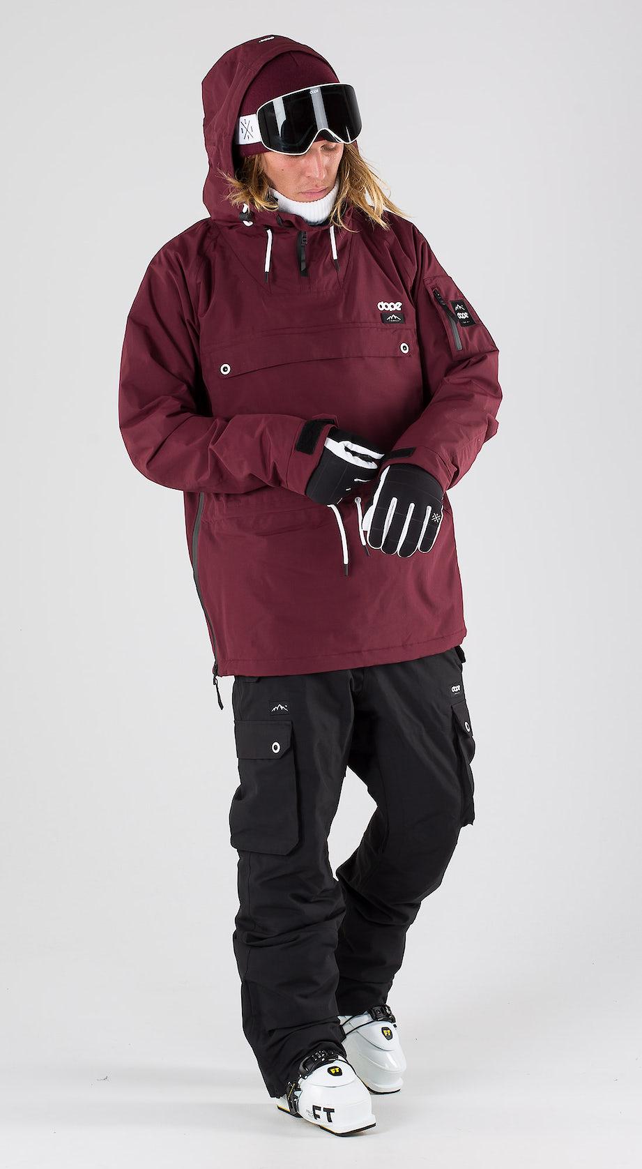 Dope Annok Burgundy Ski clothing Multi