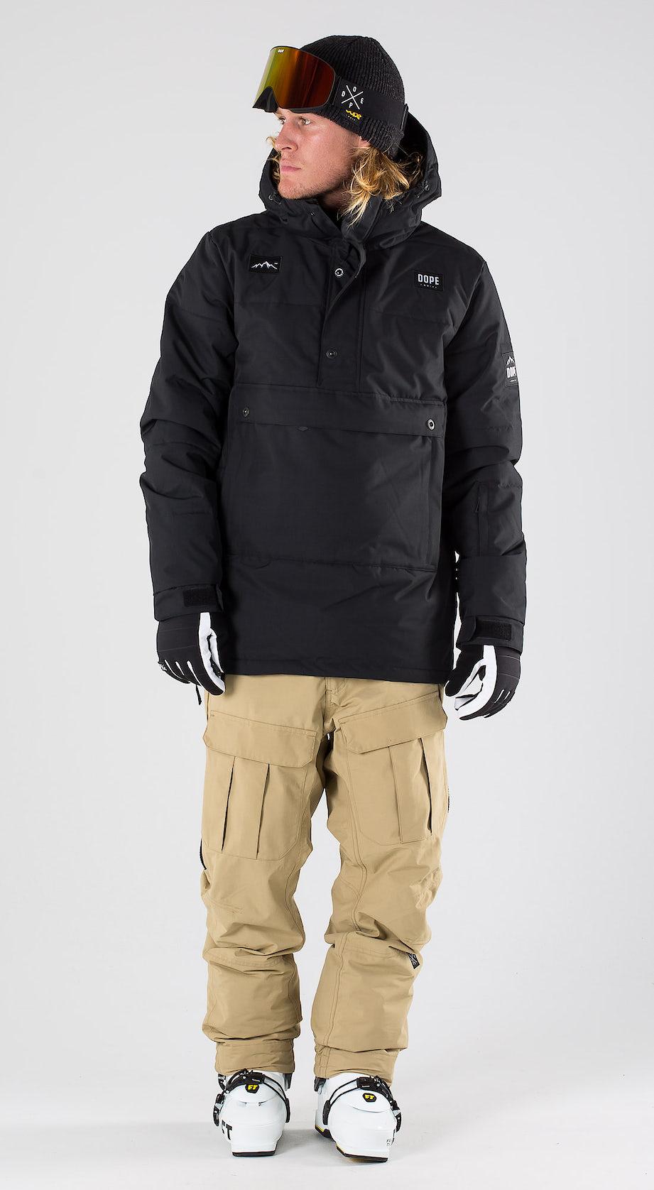 Dope Puffer Black Vêtements de ski Multi