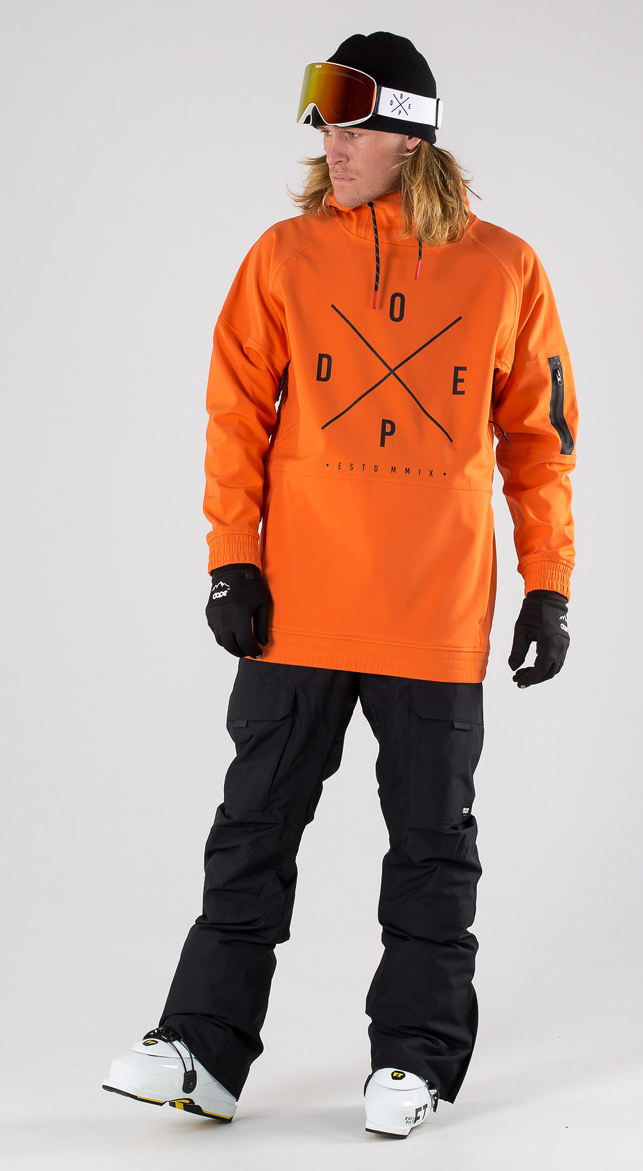 Dope Rambler MTE Orange Skibekleidung Multi