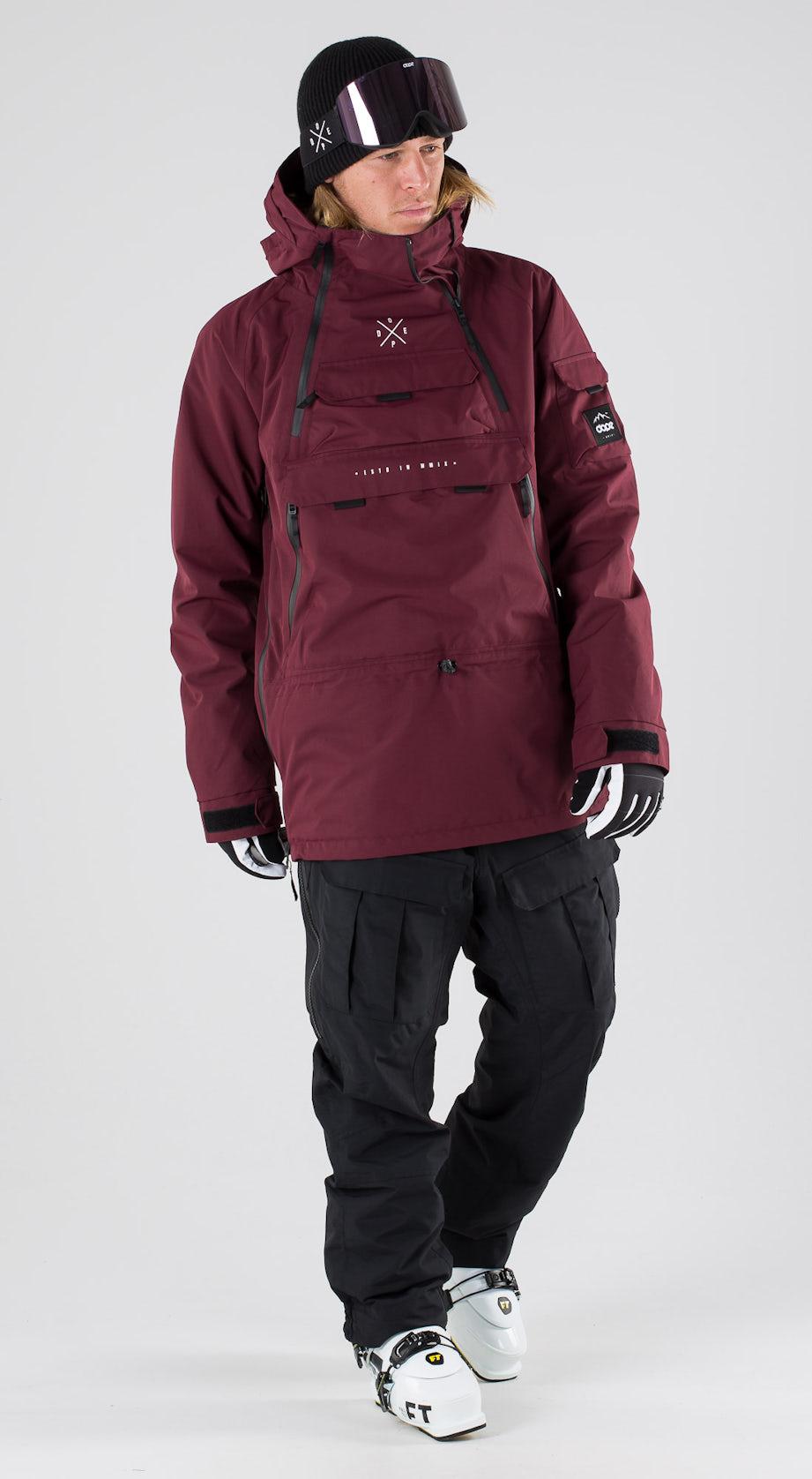 Dope Akin Burgundy Ski clothing Multi