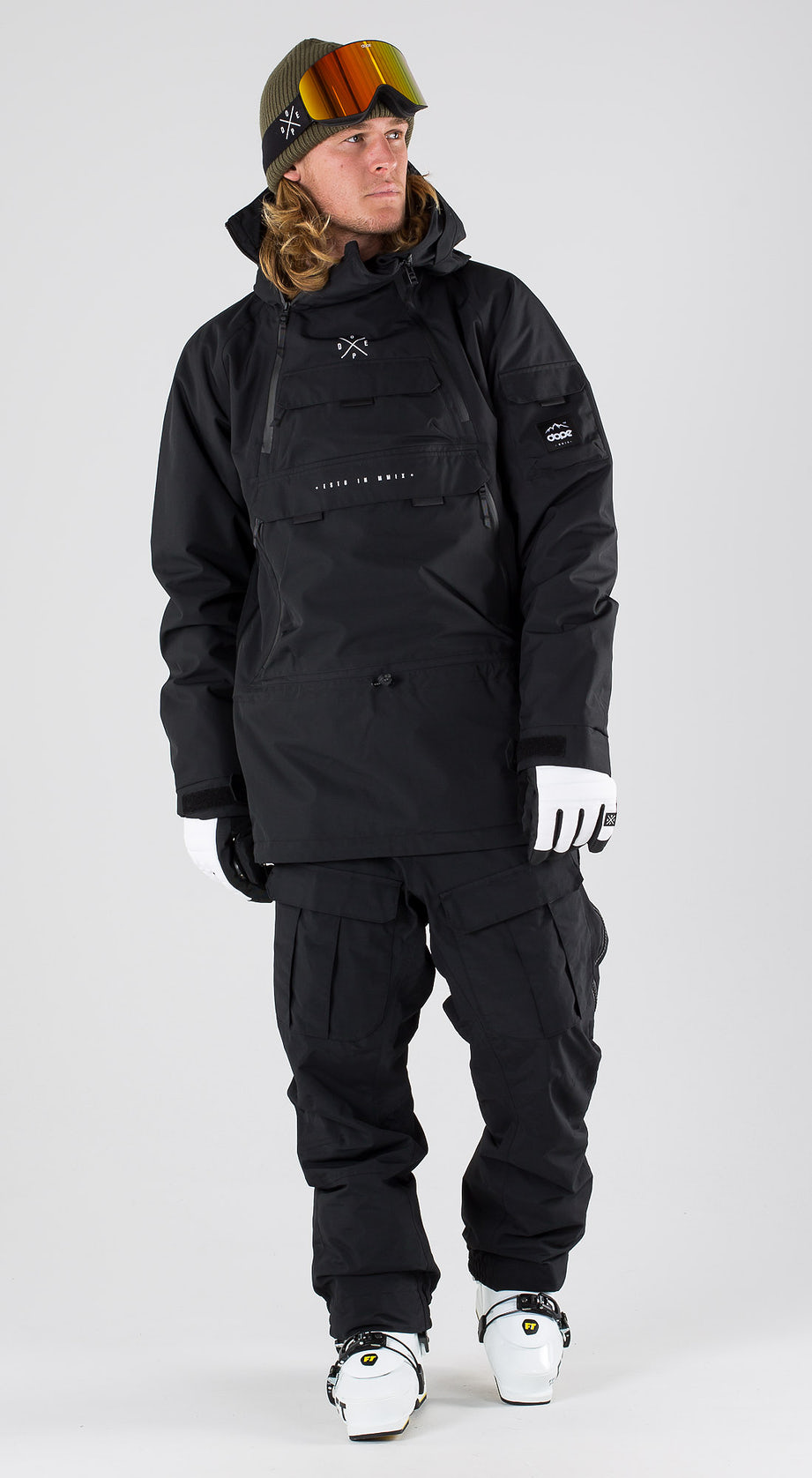 Dope Akin Black Vêtements de ski Multi