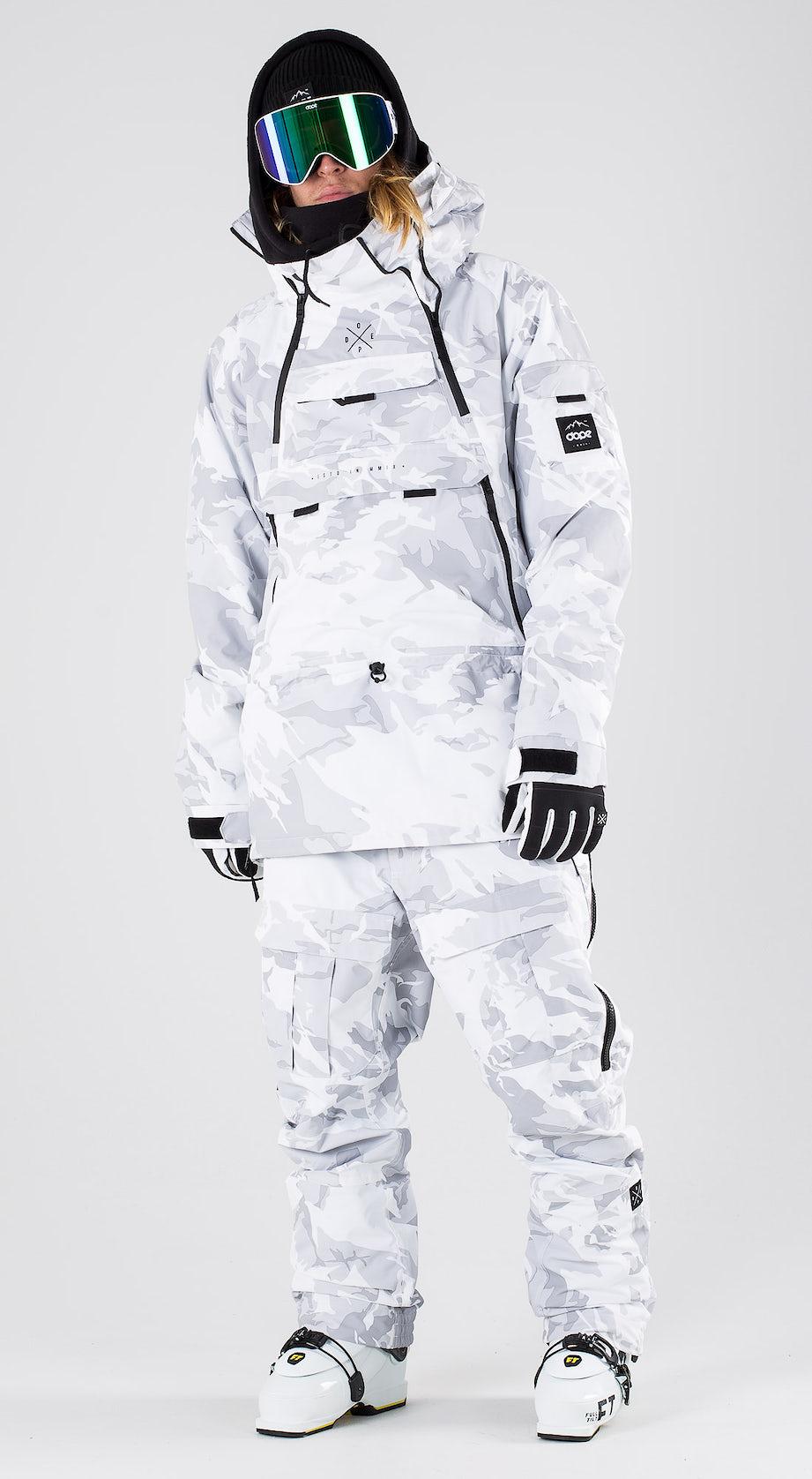 Dope Akin Tux Camo Ski clothing Multi