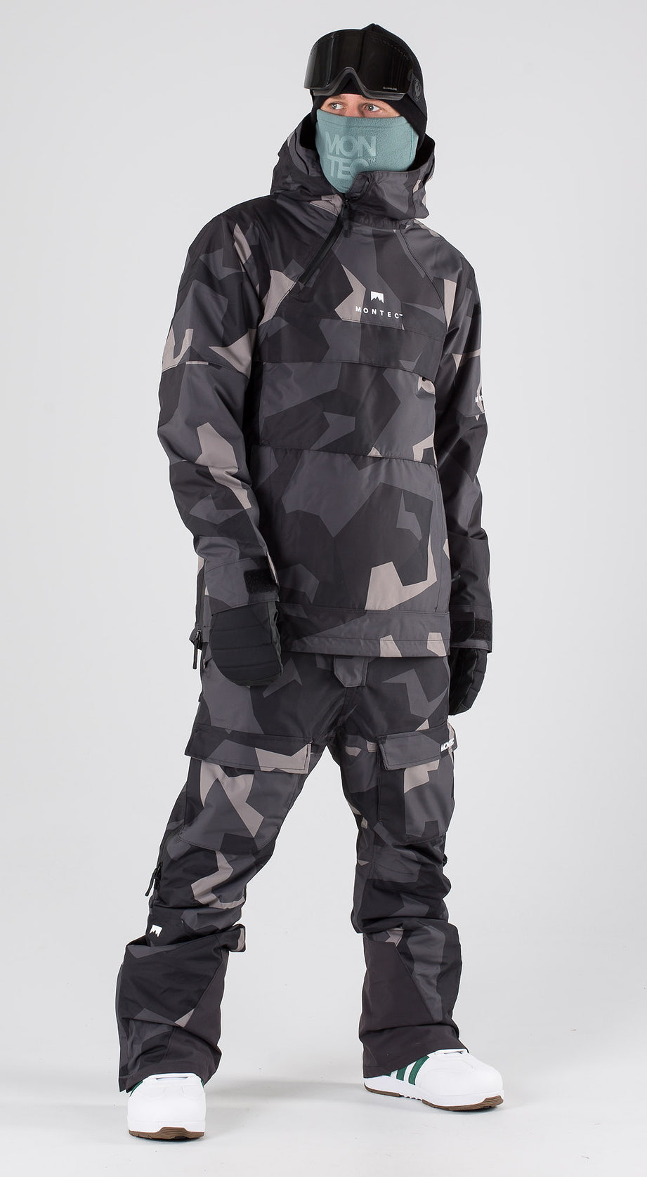 Montec Dune Night Camo Snowboard clothing Multi