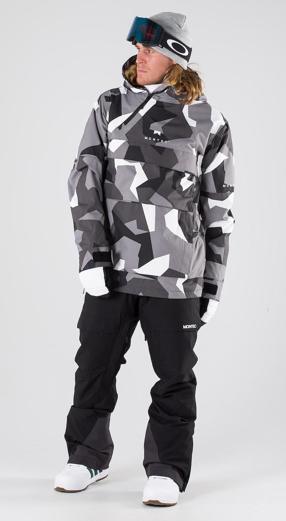 Montec Dune Arctic Camo Snowboard clothing Multi