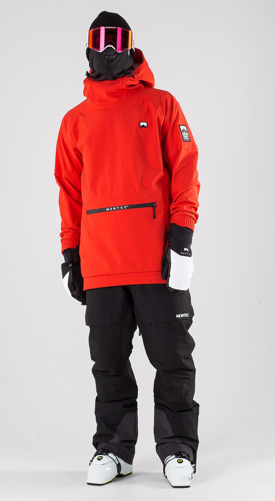 Montec Tempest Red Vêtements de ski Multi