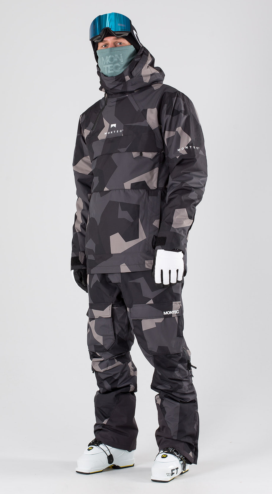 Montec Dune Night Camo Skiklaer Multi
