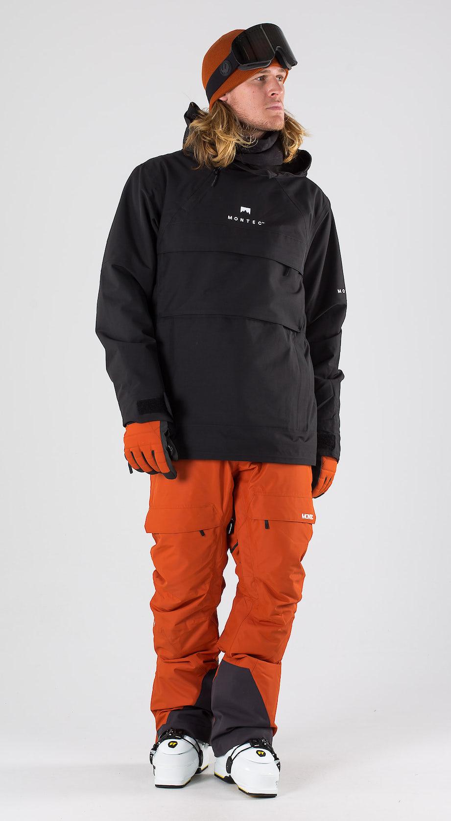 Montec Dune Black Ski clothing Multi