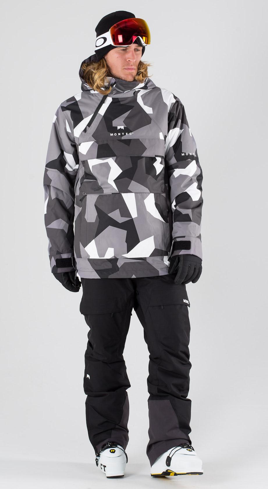 Montec Dune Arctic Camo Vêtements de ski Multi