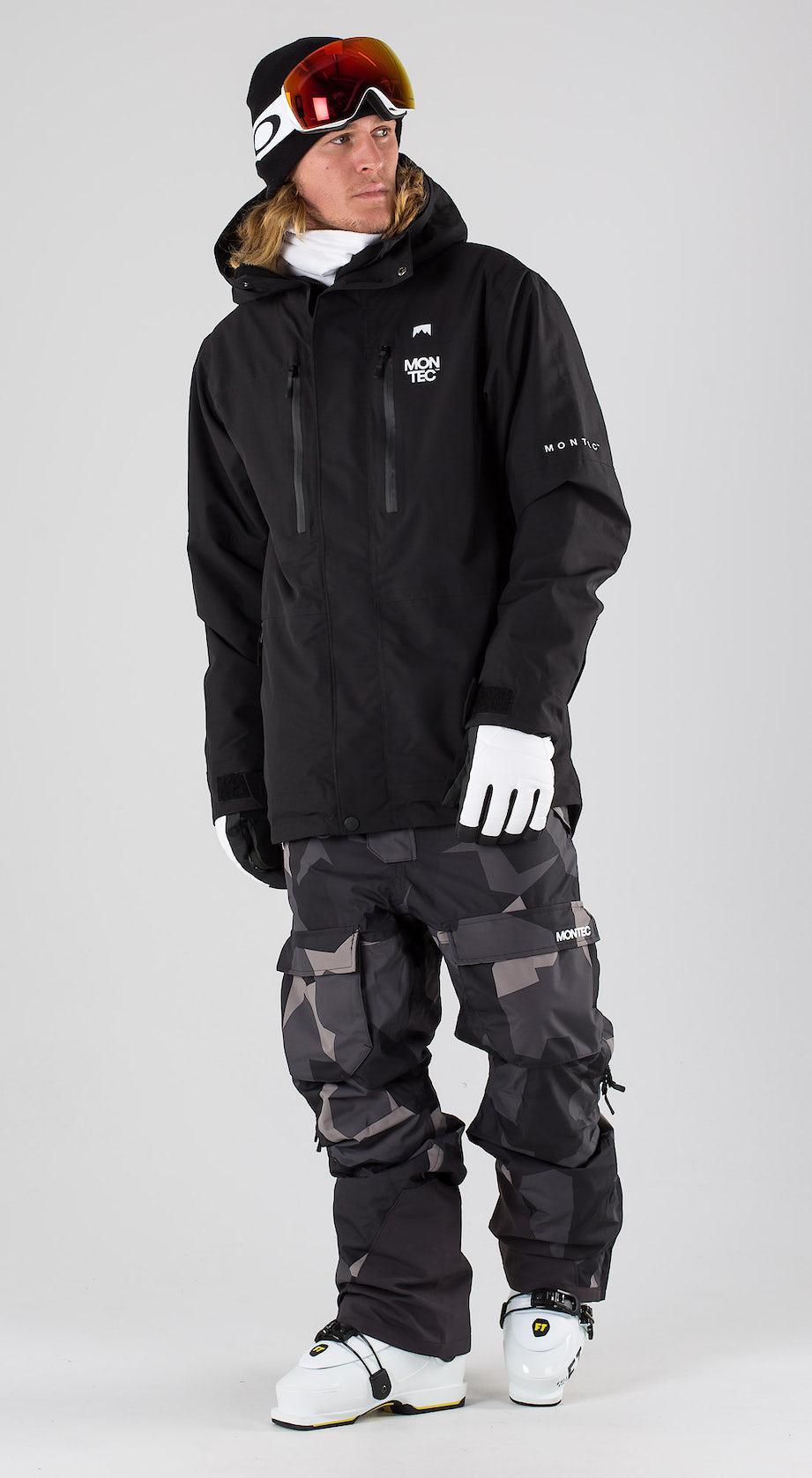 Montec Fawk Black Vêtements de ski Multi