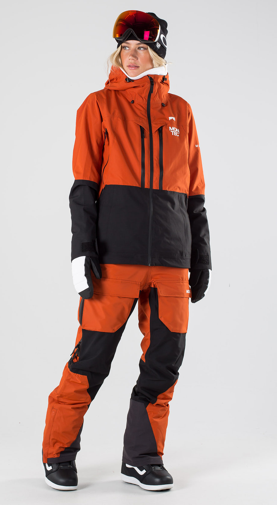 Montec Moss Clay/Black/White Snowboard clothing Multi