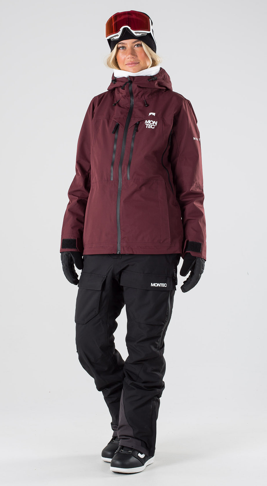 Montec Moss Burgundy Snowboard clothing Multi