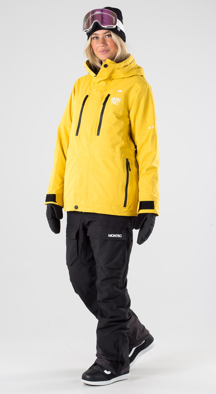 Montec Fawk W Yellow Snowboard clothing Multi