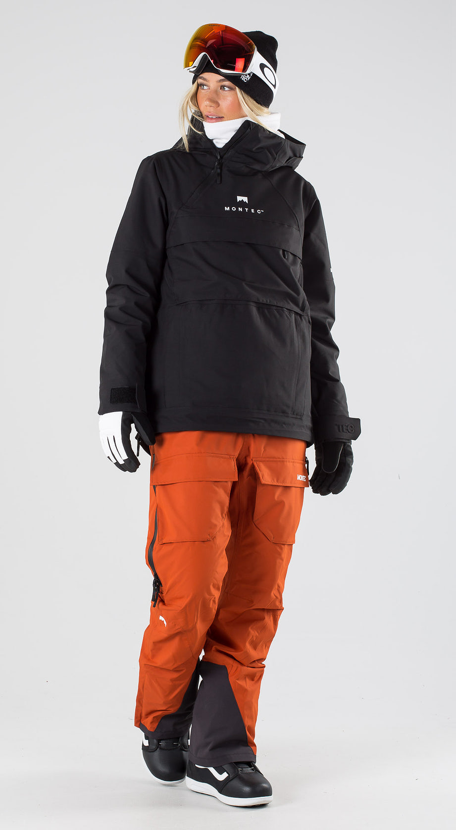 Montec Dune W Black Snowboardkleidung Multi