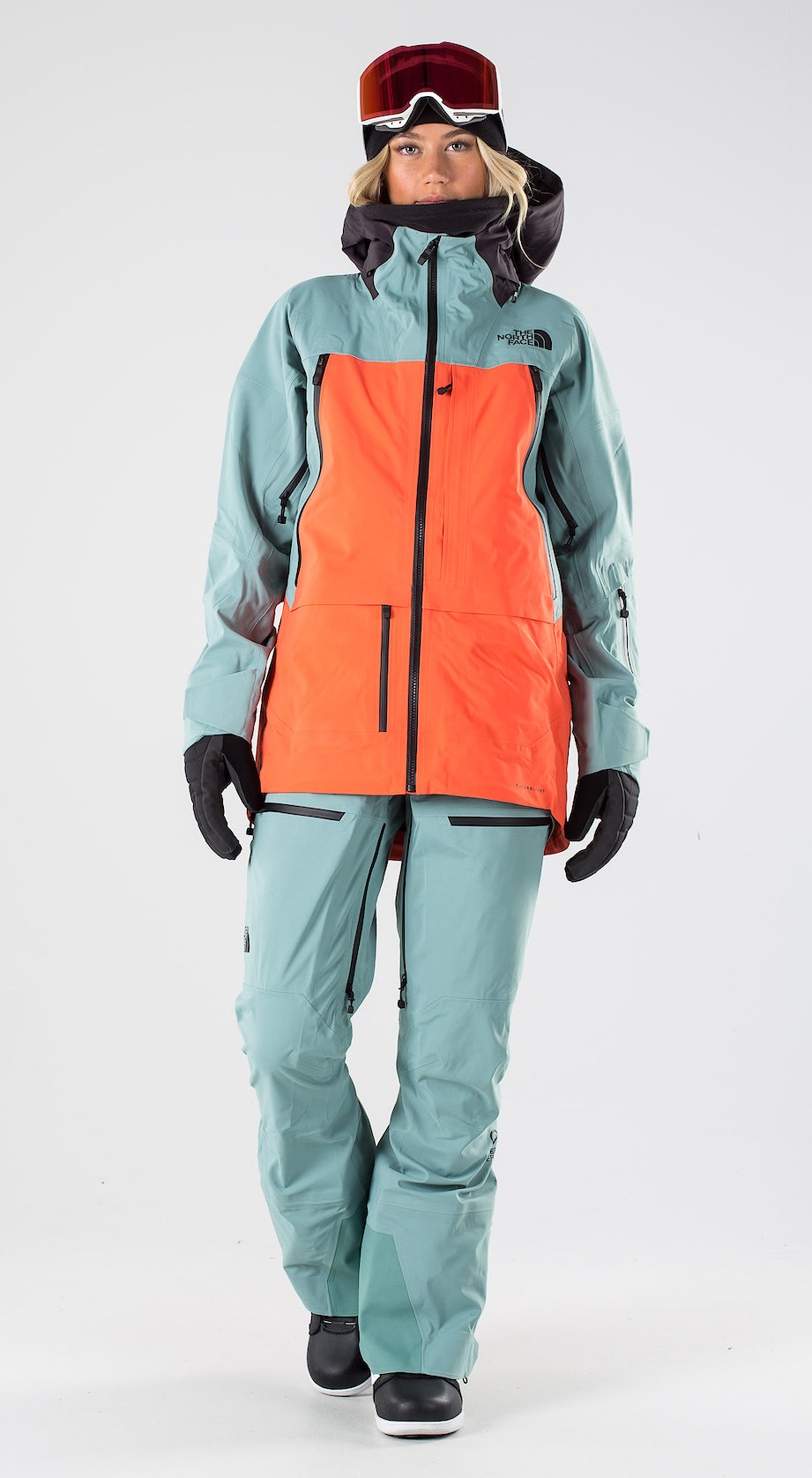 The North Face A-Cad Trellsgn/Radntorg/Wthrblk Snowboard clothing Multi
