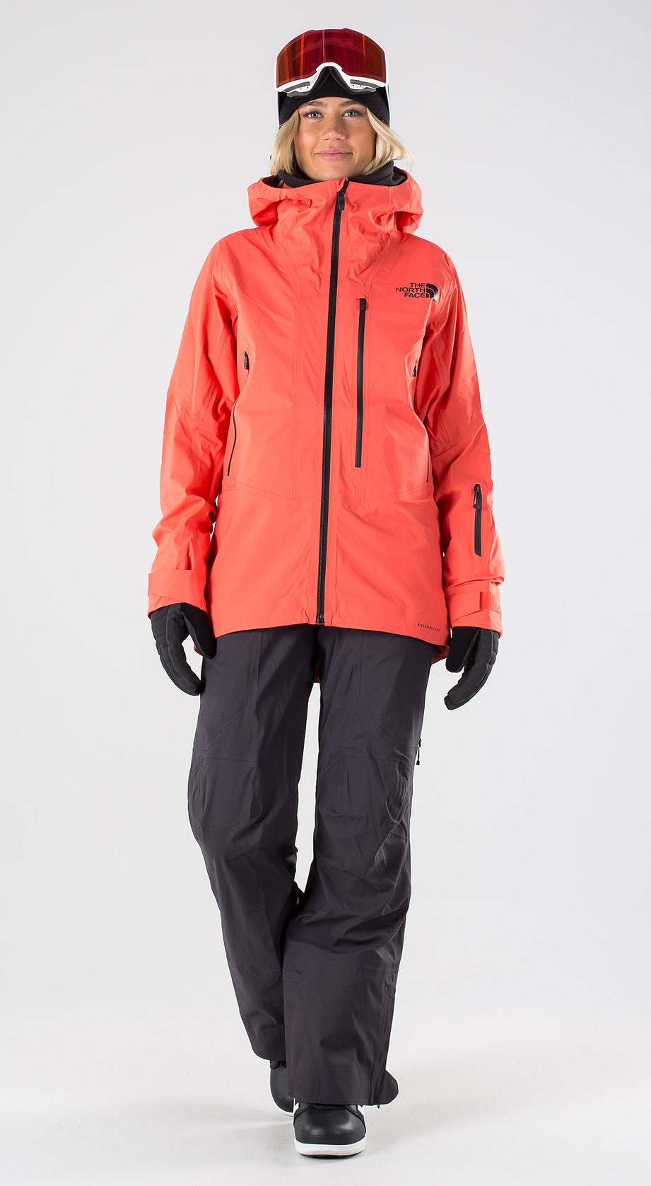 The North Face Free Thinker Radiant Orange Snowboardkleidung Multi