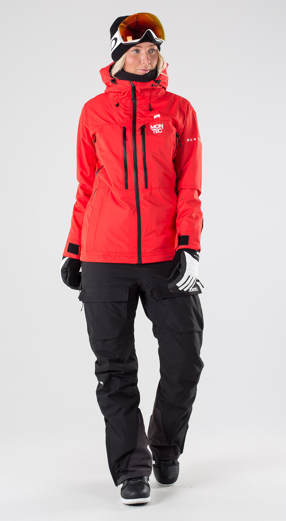 Montec Moss Red Snowboard clothing Multi