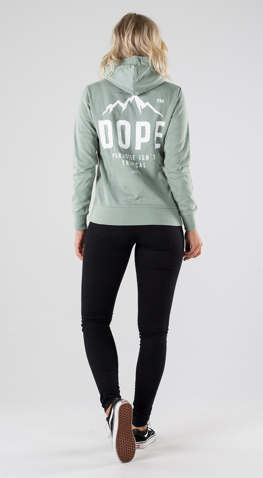 Dope Copain Paradise II Faded Green Outfit Multi