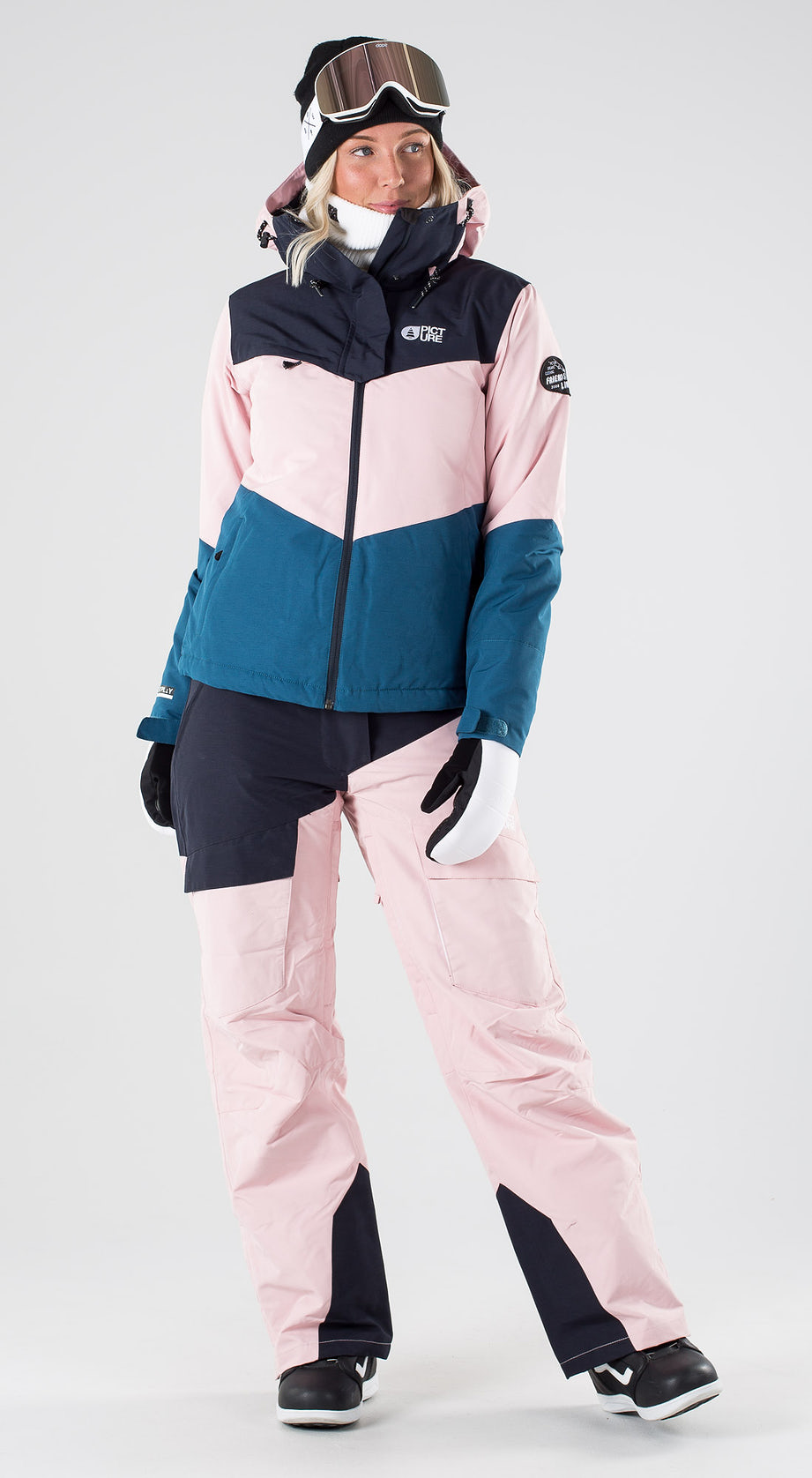 Picture Week End Pink Snowboard clothing Multi
