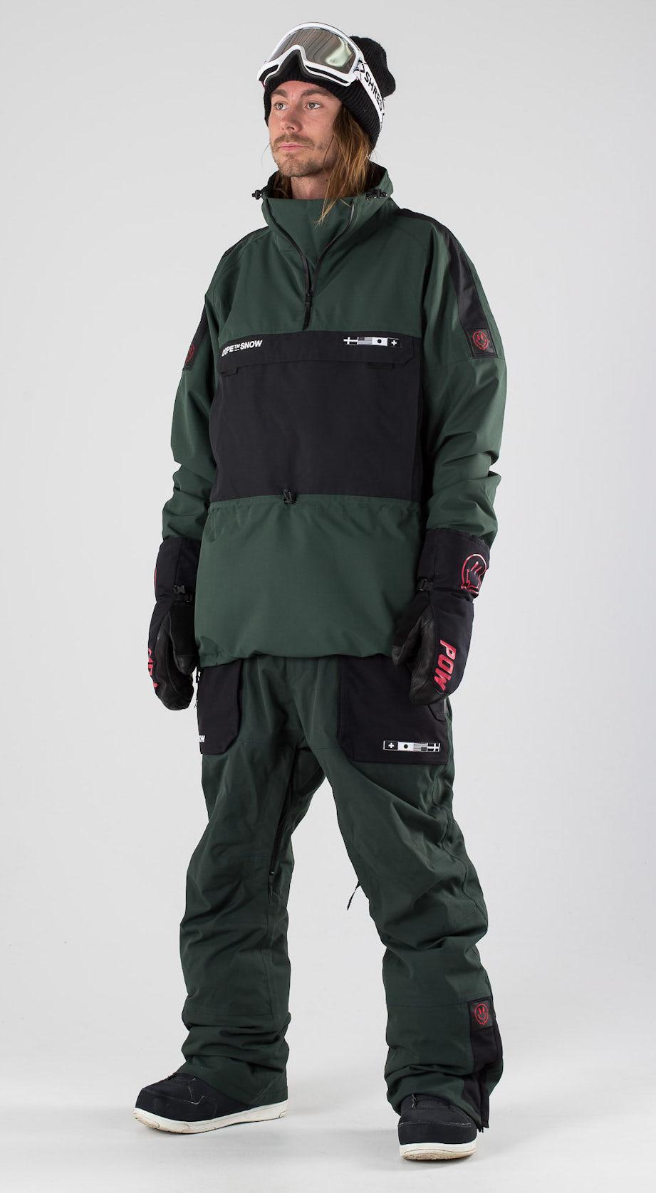 Dope KB Annok NH Green Black Snowboard clothing Multi