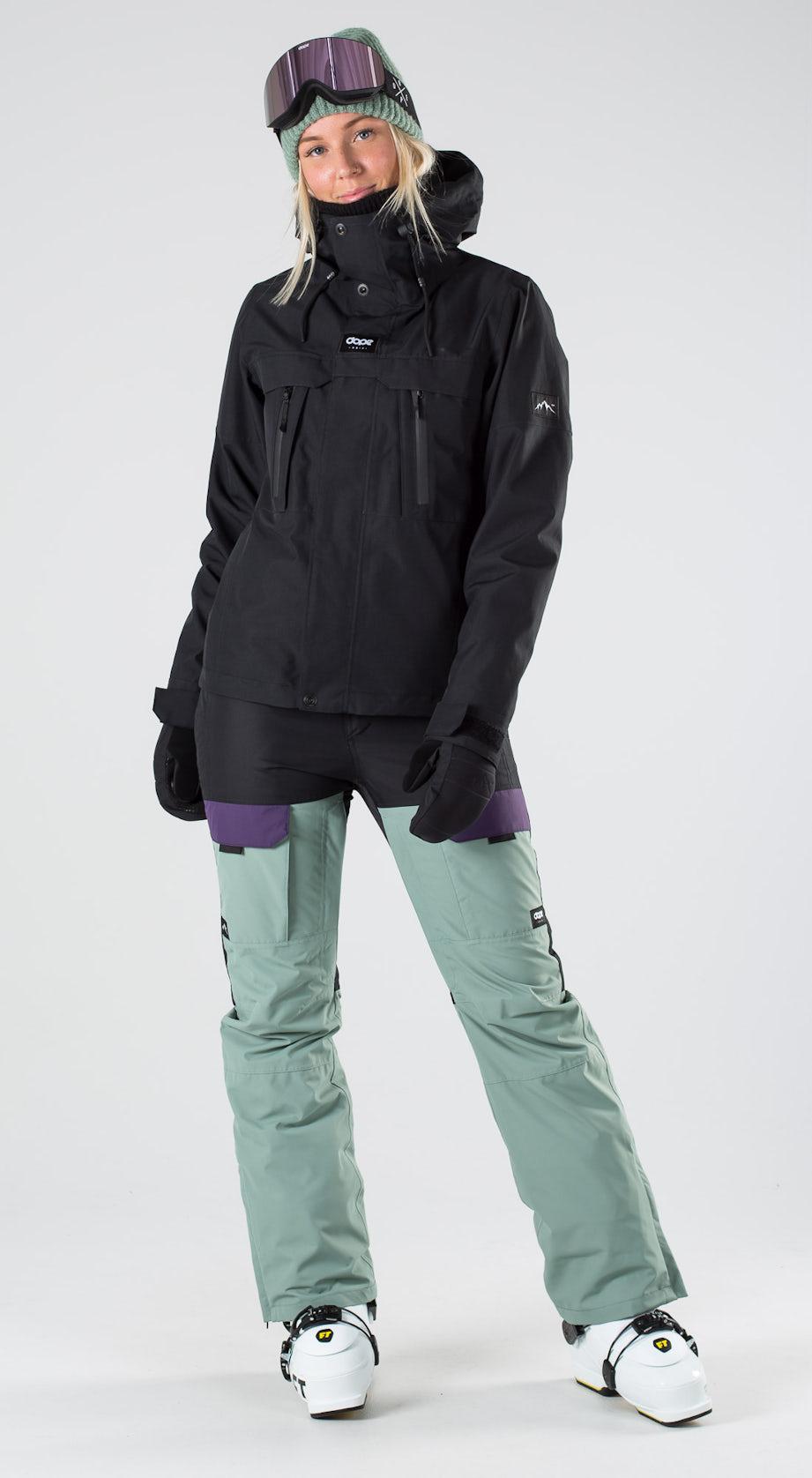 Dope Lunar W Black Skidkläder Multi